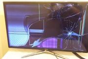 Замена экрана/матрицы телевизора